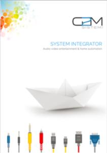 G2M Sistemi brochure cover